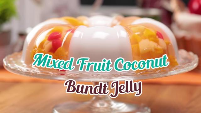 Mixed Fruit Coconut Bundt Jelly Thumbnail