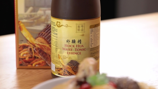 Hockhua waist tonic essence and chicken soup recipe
