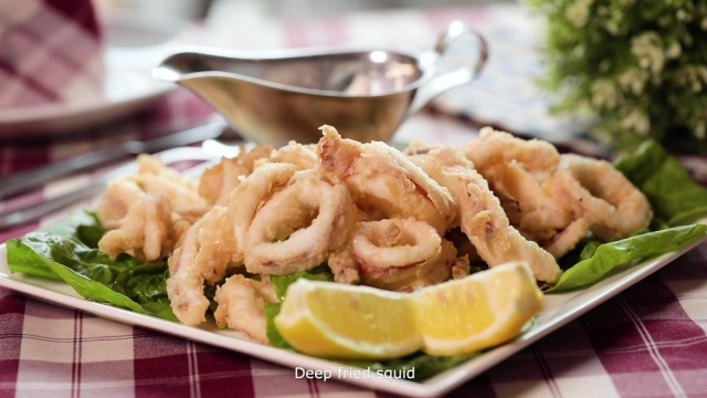 Calamari Fritti at Al Forno by Alessandro Di Prisco