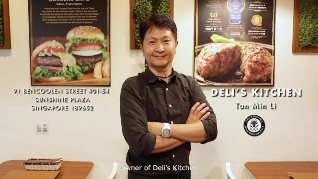 Chef Tan Min Li of Deli's Kitchen at Sunshine Plaza
