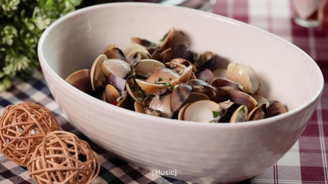 saute clams from Al Forno