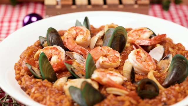Portuguese Seafood Rice