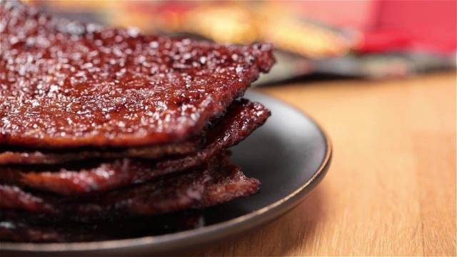 Homemade Bak Kwa 自制肉干