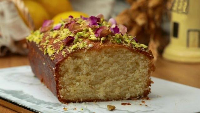 Sunshine Lemon loaf cake
