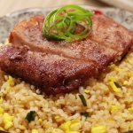 Superior Pork Chop Egg Fried Rice