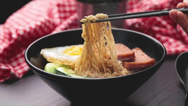 Classic Sesame Oil Noodle Bowl instant noodles