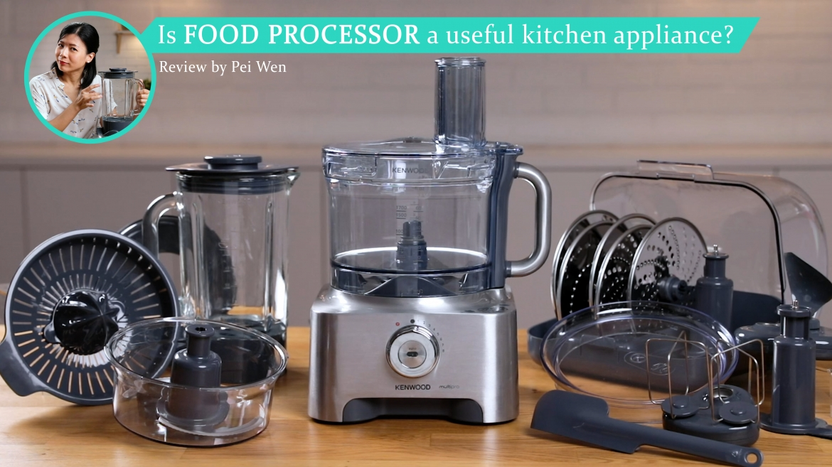 Review of Kenwood Multipro Sense Food Processor M810 by Loo Pei Wen