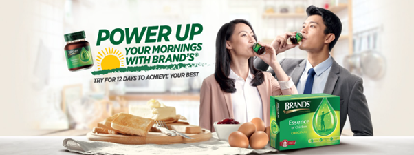 Brand's Essence of chicken campaign