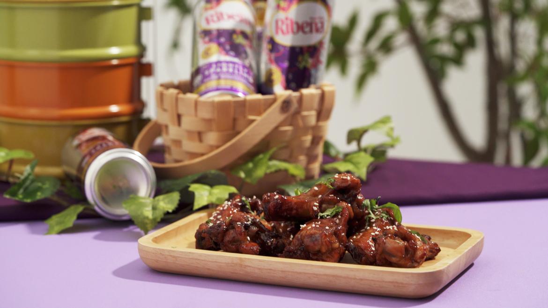Ribena Air Fried Chicken Drumettes recipe by Loo Pei Wen