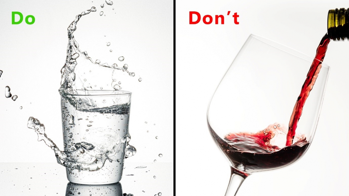 Do drink water and do not drink alcohol before Covid 19 vaccine