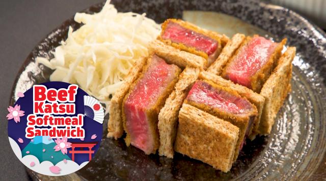Japan Beef Katsu Sando Softmeal Sandwich Sunshine Bakeries Share Food Singapore